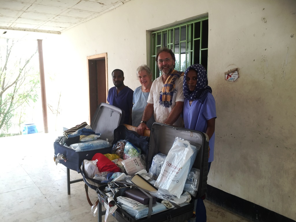 CGA Blog Day 6 Warren and Margaret medical supplies